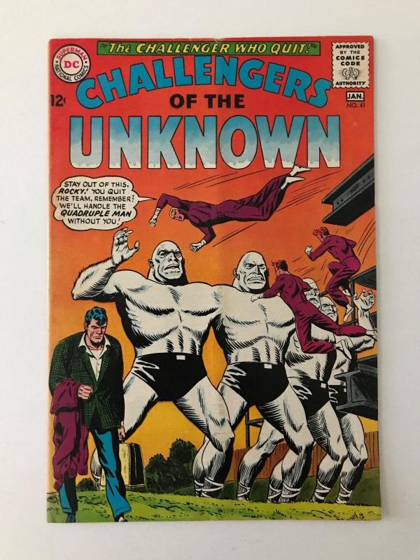 Challengers of the Unknown #41 (Dec 1964-Jan 1965, DC) - Fine+/VF