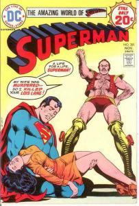 SUPERMAN 281 VF-  November 1974 COMICS BOOK