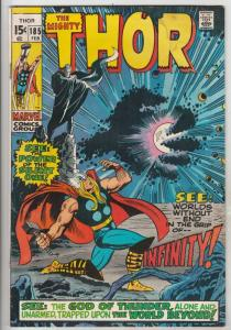 Thor, the Mighty #185 (Feb-71) GD/VG Affordable-Grade Thor