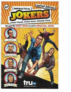 Impractical Jokers #1 VF+ limited edition - Joe, Murr, Sal, Quinn TruTV DC 2013