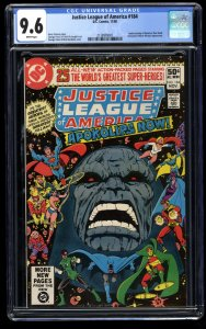 Justice League of America #184 CGC NM+ 9.6 White Pages Darkseid Apokolips Now!