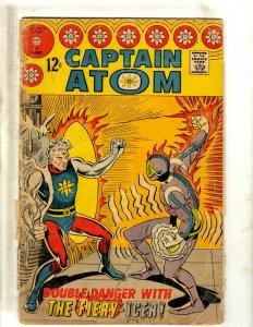 Captain Atom # 87 GD Charlton Silver Age Comic Book Fiery-Icer  J462
