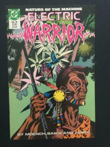 ELECTRIC WARRIOR #16, NM-, Moench, Baikie, DC, 1986 1987 more DC in store