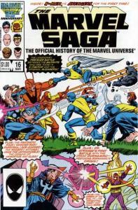 Marvel Saga #16, VF- (Stock photo)