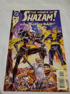 Power of Shazam 10 Near Mint- Cover by Jerry Ordway