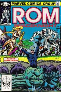 Rom (1979 series) #28, VF+ (Stock photo)