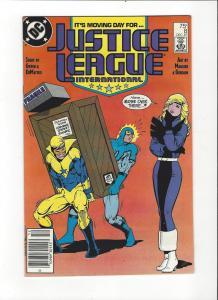 Justice League International #8 1987 DC Comics Copper Age  NM