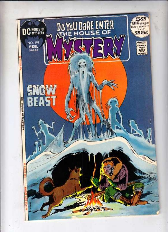 House of Mystery #199 (Feb-72) VF/NM High-Grade Cain