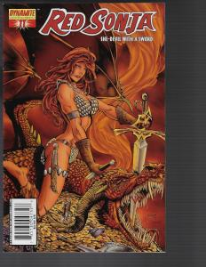 Red Sonja #11 (Dynamite) -  Randy Queen Cover