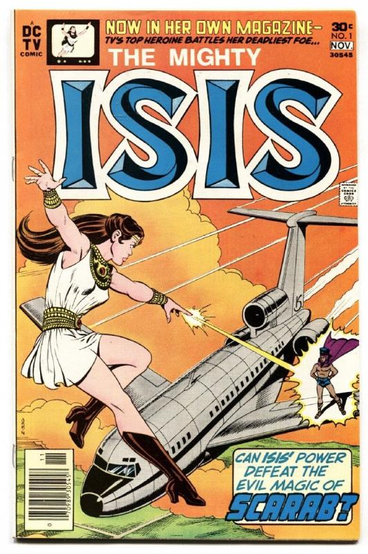 Isis #1-1976-First issue-DC-Comic Book-Shazam