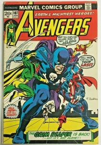 AVENGERS#107 VG/FN 1973 MARVEL BRONZE AGE COMICS