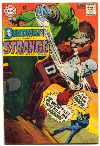 STRANGE ADVENTURES #212 1968-DC COMICS-DEADMAN-ADAMS VF