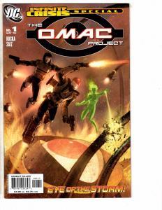 5 DC Comics OMAC Project # 1 Teen Titans Year Zero Metropolis SCU # 1 2 3 J220