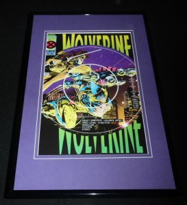 Wolverine #87 Framed 11x17 Cover Display Official Repro Gambit