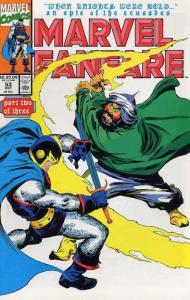 Marvel Fanfare #53 VF/NM; Marvel | save on shipping - details inside