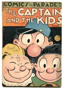 Comics On Parade #49 1945 -Captain and the Kids -FR