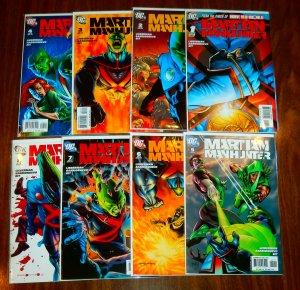 Martian Manhunter   vol. 3   #1-8 (complete set)