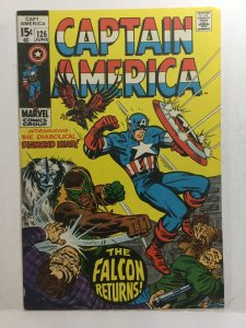 Captain America 126 Fn+ Fine+ 6.5 Marvel Comics