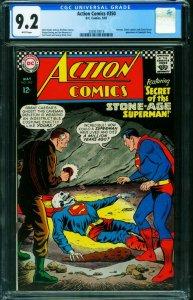 ACTION COMICS #350 CGC 9.2 1967-SUPERMAN-SKULL COVER 2039573019