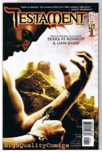 TESTAMENT #1 2 3 4 5 6 7 8 9 10, NM+, Liam Sharp, Vertigo, Gods, Bible