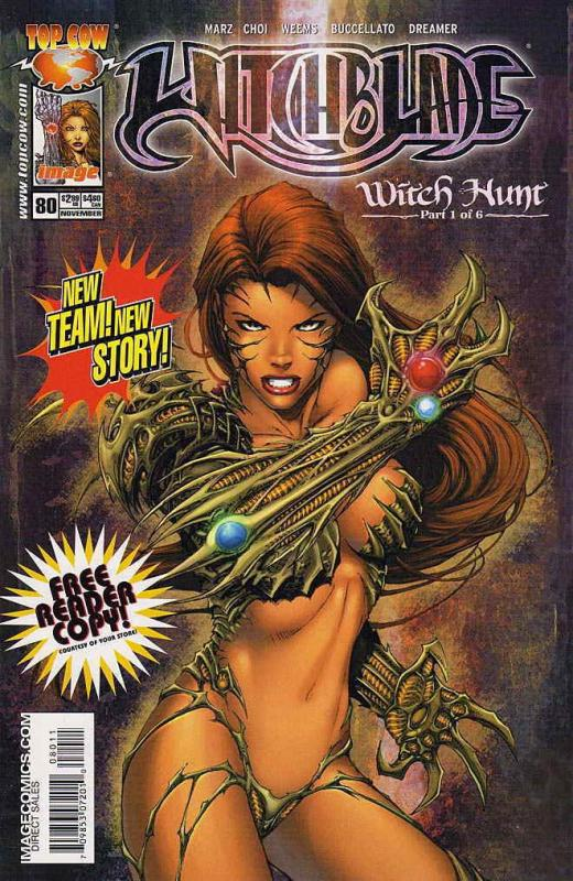 Witchblade #80D VF/NM; Image | save on shipping - details inside