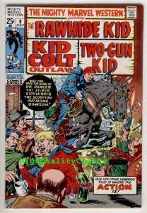 MIGHTY MARVEL WESTERN #9,Kirby,Rawhide Kid,Colt,Gun,'70