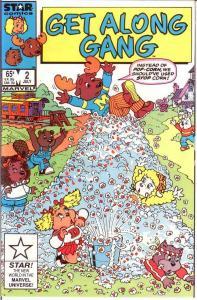 GET ALONG GANG 2 VF-NM July 1985 COMICS BOOK