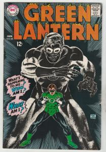 Green Lantern #58 (Jan-68) FN/VF Mid-High-Grade Green Lantern