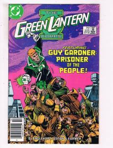 Green Lantern #205 VF DC Comics Modern Age Comic Book Guy Gardner DE21