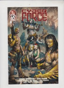 CYBER FORCE V4 #5 2001 TOP COW / IMAGE