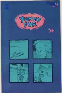 Yummy Fur #14 VG; Vortex | low grade comic - save on shipping - details inside
