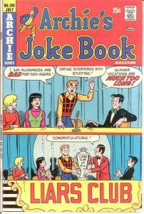 ARCHIES JOKE BOOK (1954-1982)198 F-VF July 1974 COMICS BOOK