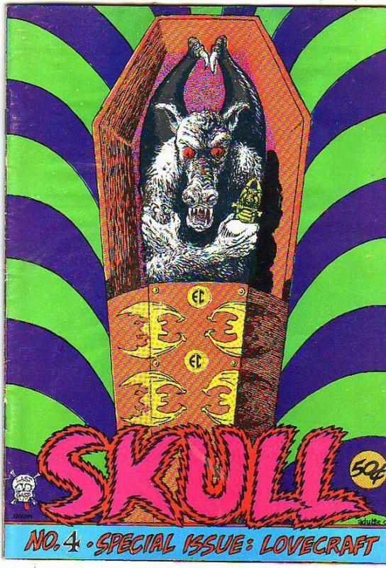 Skull #4 (Jan-72) FN Mid-Grade