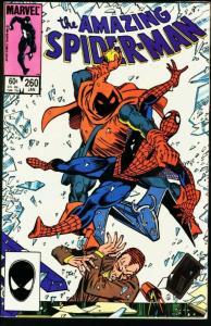 AMAZING SPIDER-MAN #260-1985-MARVEL VF