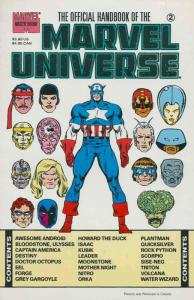 Official Handbook of the Marvel Universe Master Edition #2 VF/NM; Marvel | save