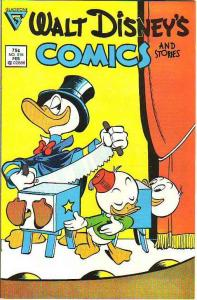 Comics and Stories, Walt Disney's #515 (Feb-87) VF High-Grade Donald Duck, Hu...