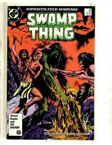 Swamp Thing # 48 VF/NM DC Comic Book Justice League Dark Deadman Horror J371
