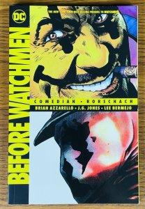 BEFORE WATCHMEN COMEDIAN & RORSCHACH TPB DC COMICS 2014 NEAR MINT Alan Moore