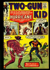 Two-Gun Kid #70 1964- Marvel Western- Jack Kirby- 1st Hurricane - VG-