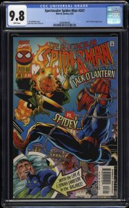 Spectacular Spider-Man #247 CGC NM/M 9.8 White Pages