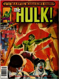 Rampaging Hulk #25 (1977 Magazine) VF