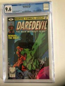 DAREDEVIL #163 CGC 9.6 OW/W / MARVEL 3/80  / NEW CASE