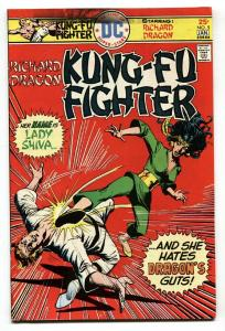 Richard Dragon Kung-Fu Fighter #5-First LADY SHIVA-DC