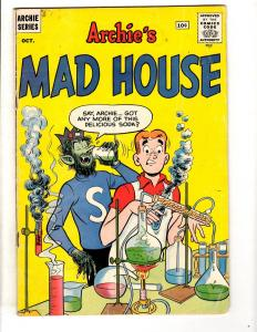 Archie's Mad House # 15 FN- Silver Age Comic Book Jughead Betty Veronica JL28