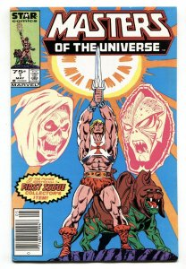 Masters of the Universe #1 1986  Star Comics Marvel First issue HE-MAN