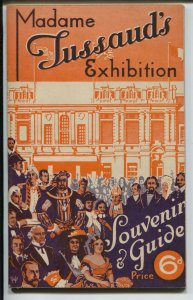 Madame Tussaud's Exhibition Souvenir Book and Exhibit Guide 1939-pix-info-FN