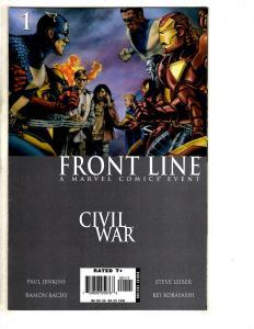 9 Marvel Comics Civil War Front Line # 1 2 3 4 11 + Gambit # 16 17 18 + # 3 JD3