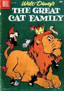 Great Cat Family #1, VG- (Stock photo)