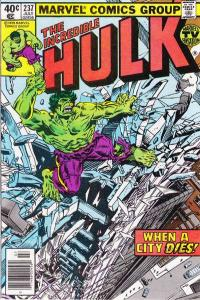 Incredible Hulk (1968 series) #237, VF- (Stock photo)