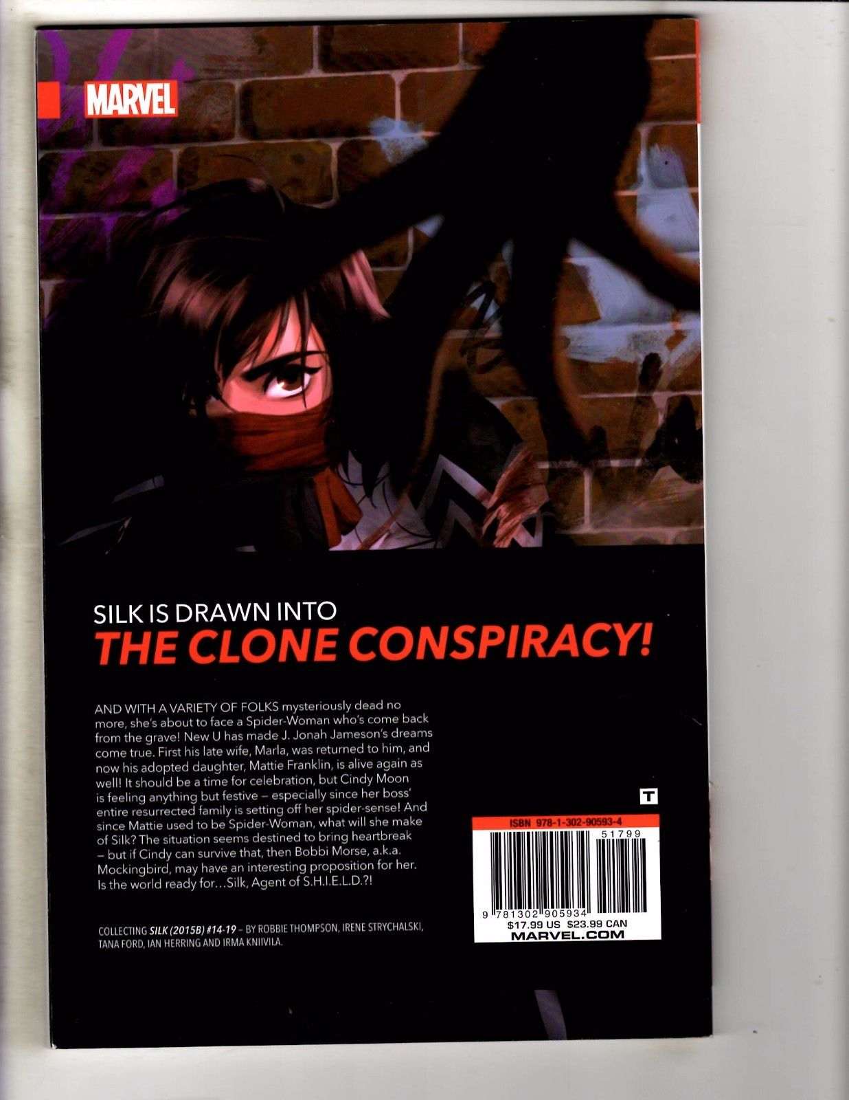 Silk The Clone Conspiracy Vol 3 Marvel Graphic Novel Comic Book
